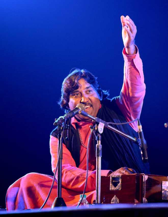 Mukhtiar Ali, serenading divine love with Sufi music