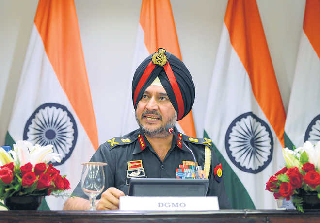 Army Northern Command chief  reviews  security