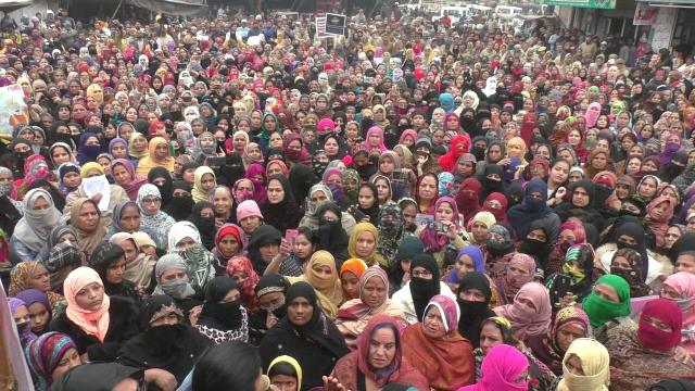 CAA: Women take to streets in Malerkotla