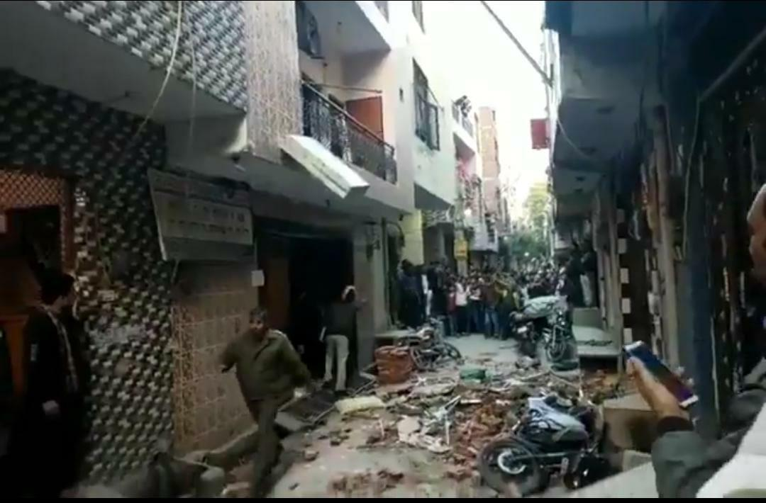 Four students among 5 killed in building collapse in Delhi's Bhajanpura