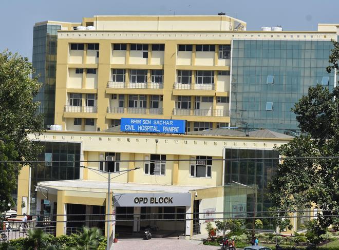 Panipat civil hospital in poor health