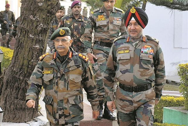 At LoC, Army Chief takes stock of security, operational readiness