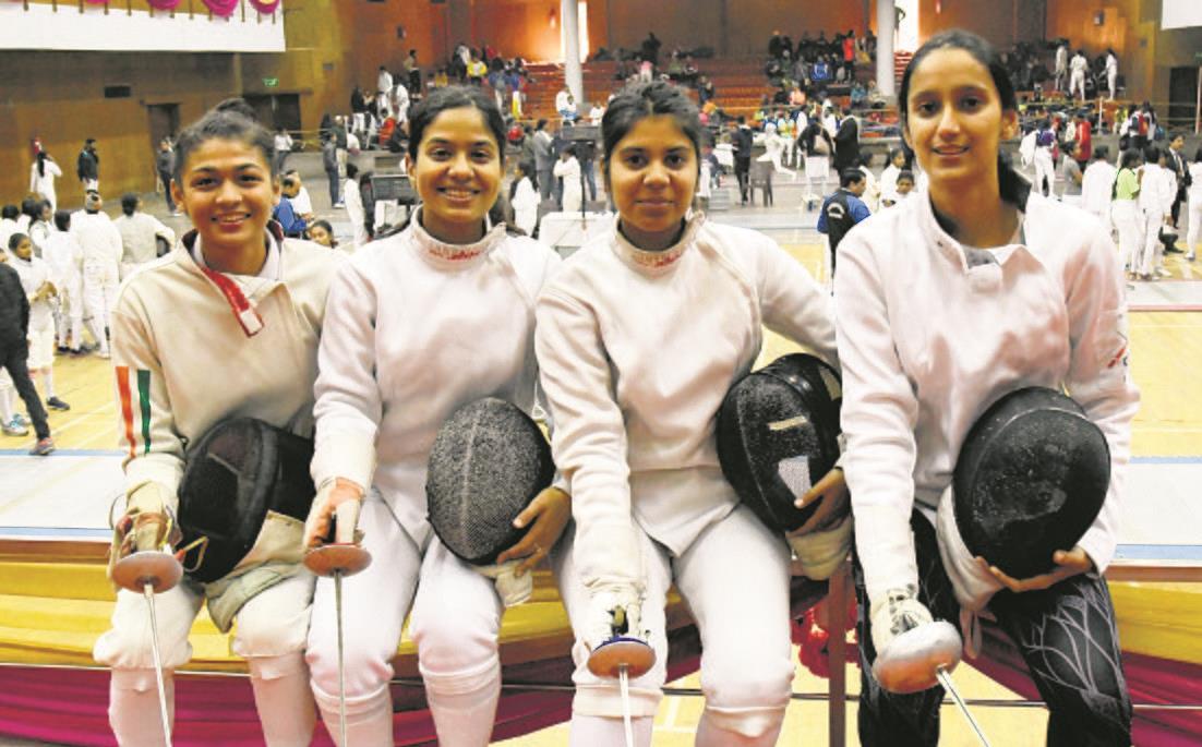 PU fencers clinch gold