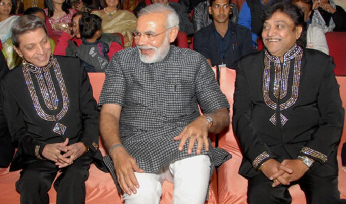 PM Narendra Modi condoles demise of Gujarati musician Mahesh Kanodia, actor Naresh Kanodia