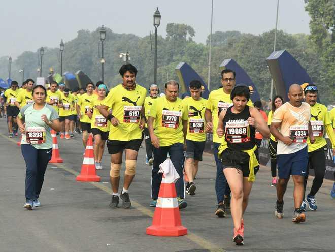 Delhi Half Marathon on November 29