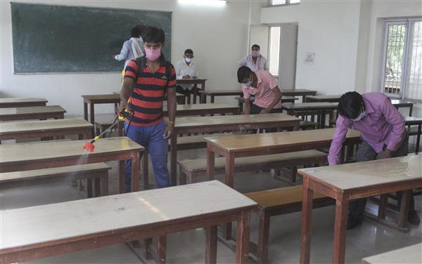 Punjab school education dept recommends opening of schools for Classes 9 to 12 for 3 hours