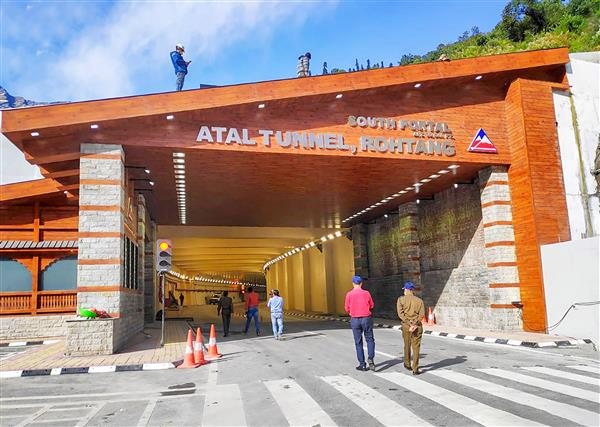 Atal Tunnel opens