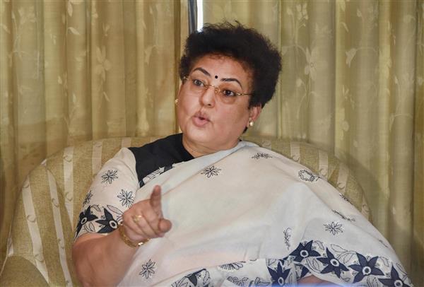 NCW chief Rekha Sharma says her Twitter account hacked