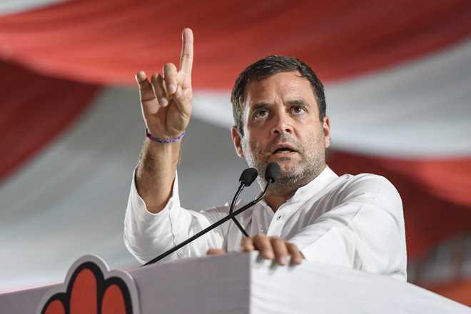 Rahul's twin rallies in Bihar: Congress banking on Tejaswi's charisma to wade through