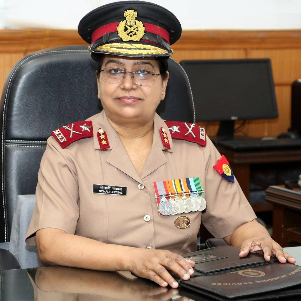 Major General Sonali Ghosal is new chief of Military Nursing Service