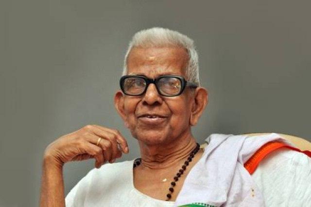 Jnanpith awardee Akkitham Achuthan Namboothiri dead