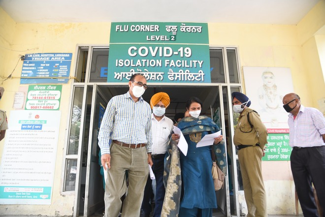 Ludhiana Civil Hospital facilities inspected