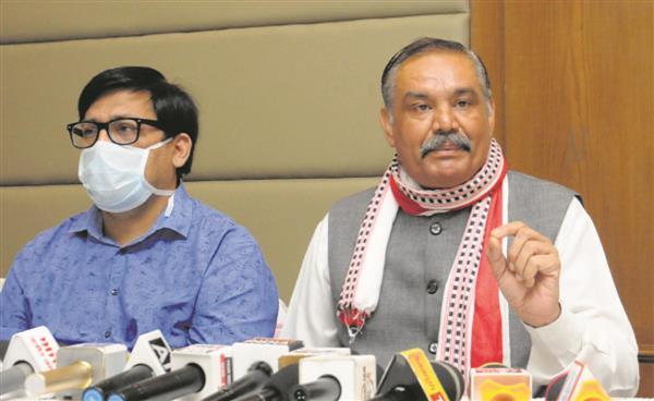 Did Youth Congress avenge Rahul Gandhi's blockade in Hathras, asks Vijay Sampla