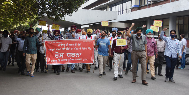 Pen-down strike by employees' unions at PAU