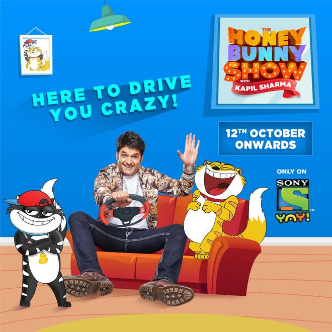 Sony YAY! announces a new show titled The Honey Bunny Show with Kapil Sharma