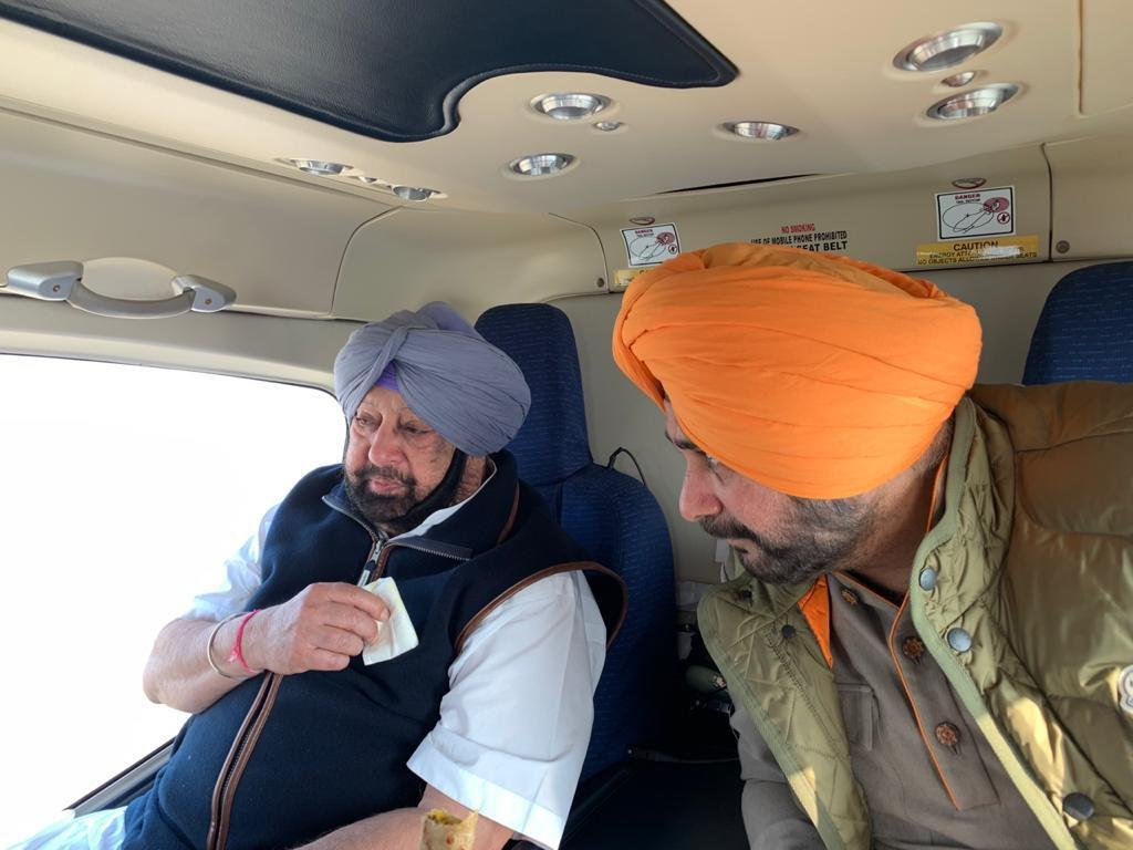 A host of issues on menu as Amarinder and Sidhu meet over lunch