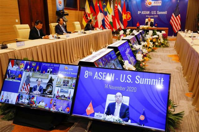 US pitches for free and open Indo-Pacific at Asean Summit