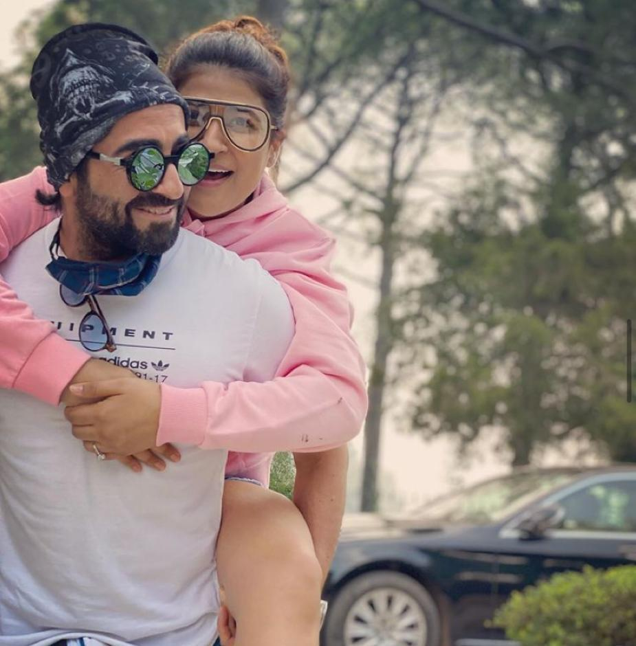 Ayushmann Khurrana is busy shooting in Chandigarh; misses his 'warm' wife Tahira Kashyap