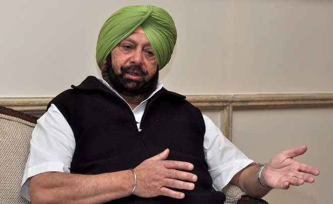 Quit party if you want to air grievances in public: Amarinder