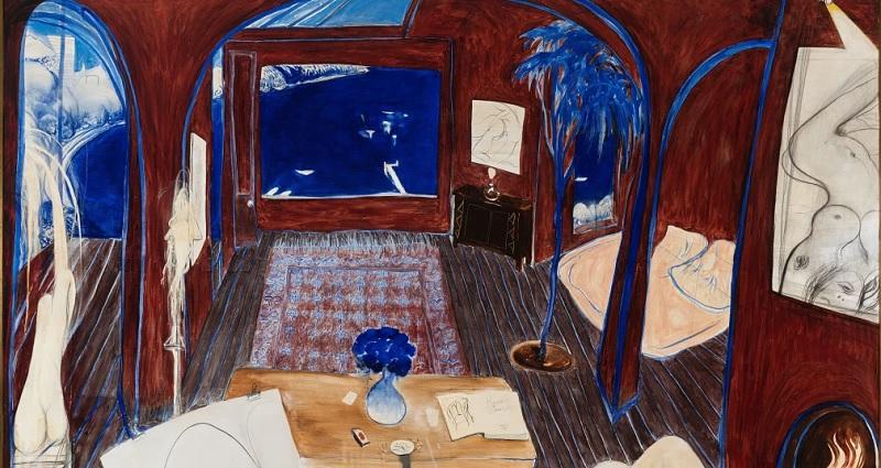 Whiteley's 'Henri's Armchair' smashes Australian art auction record