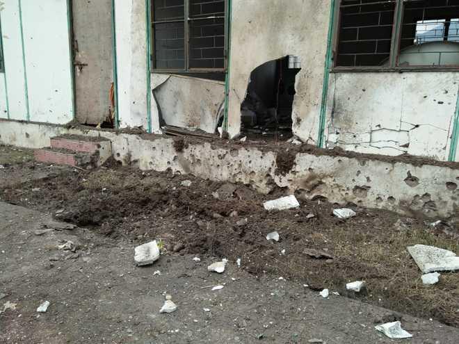 Heavy shelling by Pak in Poonch
