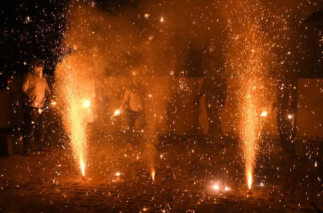 Over 50 cases registered in 5 western UP districts for violations of firecrackers ban
