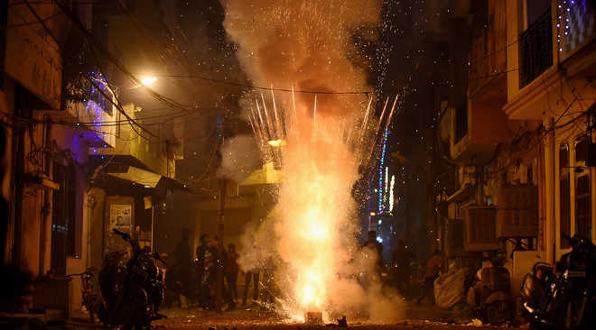 Ahead of festive season, Chandigarh bans firecrackers