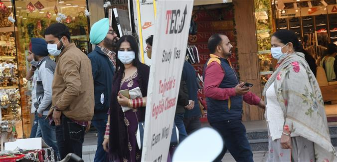 Mohali reports 93 fresh COVID-19 cases, 2 deaths