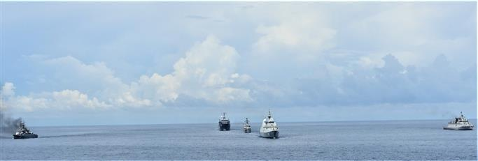Indian Navy participates in two-day trilateral exercise SITMEX-20 in Andaman sea