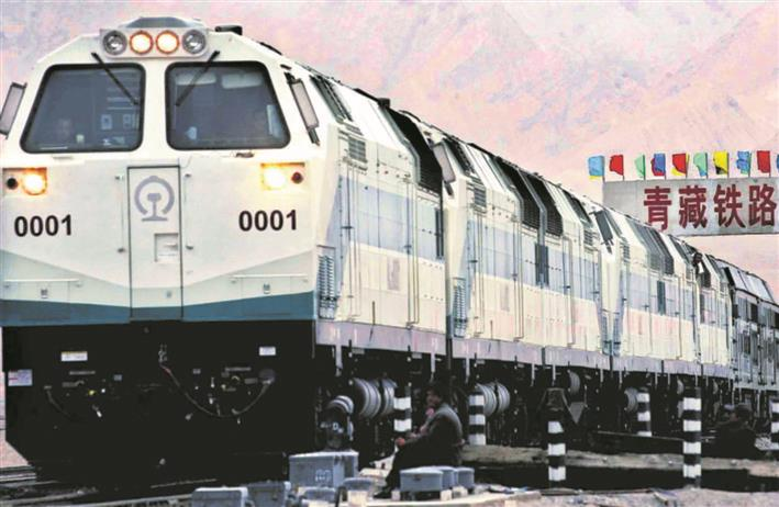 China takes railway route to tighten grip on Tibet