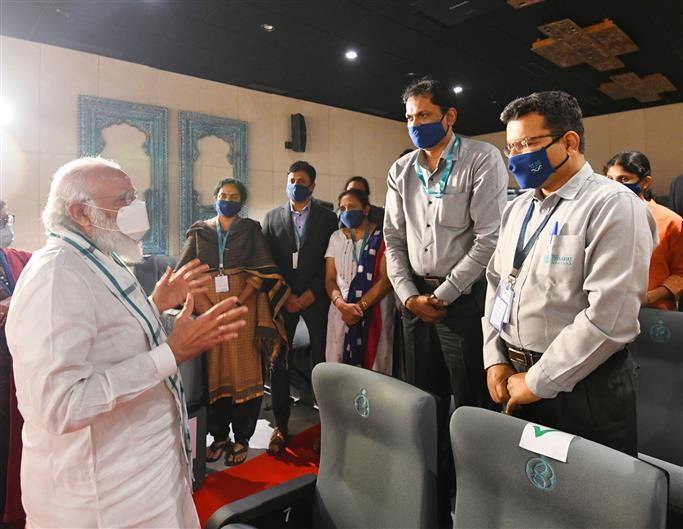 PM reviews Covid vaccine development work in Ahmedabad, Hyderabad and Pune