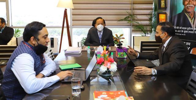 Over 1.4 crore cashless treatments provided to poor under Ayushman Bharat: Harsh Vardhan