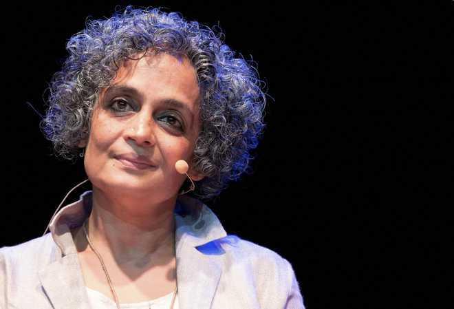 DMK condemns varsity's decision to remove Arundhati Roy's book