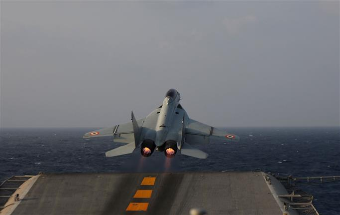 Navy's MiG-29K jet crashes into Arabian Sea
