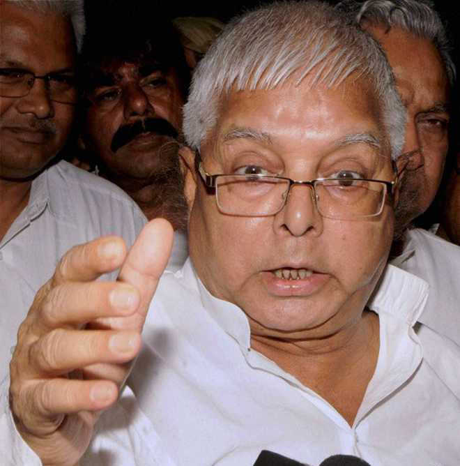 Lalu trying to buy MLAs from jail, says Sushil Modi ; Jharkhand government orders probe