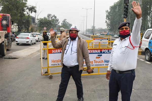 Mohali Police issues advisory to take diversions as farmers' protest leads to traffic jams