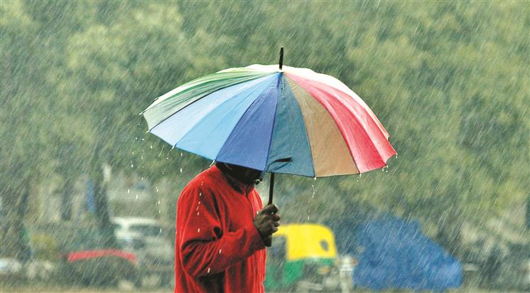 Chandigarh witnesses rainfall, hail; residents wake up to chilly morning