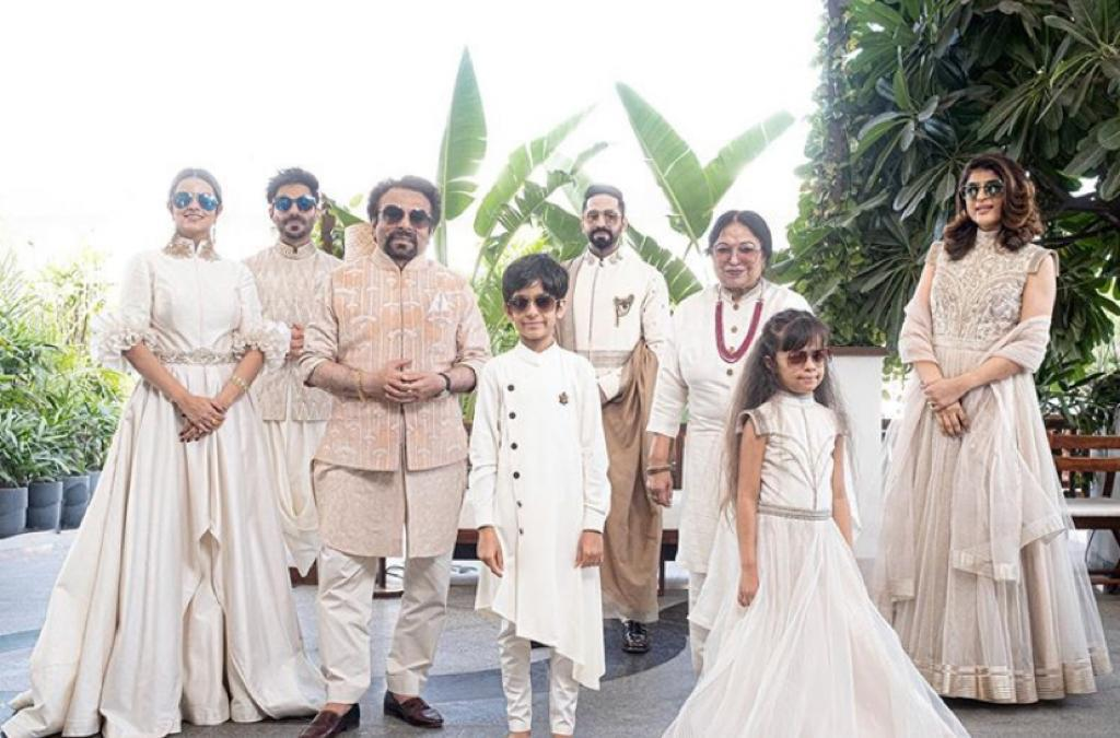 Ayushmann Khurrana celebrates Diwali in Chandigarh with 'Khurrana' clan 'exactly 6ft apart'; check out royal look