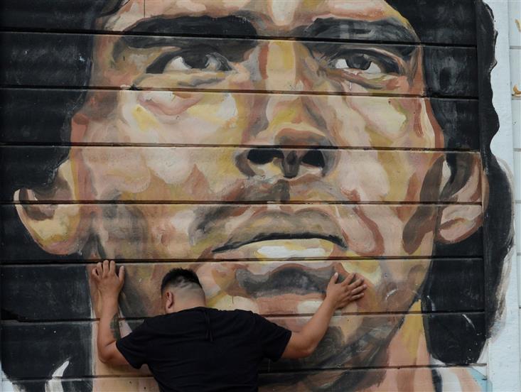 Pope prays for Maradona, fondly recalls meeting him