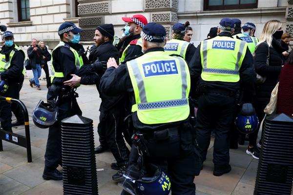 Over 150 arrested in anti-lockdown protests in London