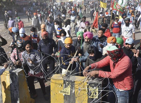Farmers say entering Delhi is not the aim; a concrete decision on three Acts is the only way out