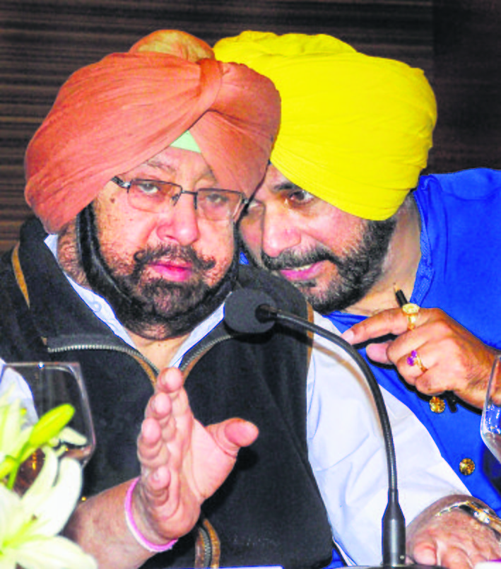 Thaw in ties? Capt to meet Navjot Sidhu at lunch