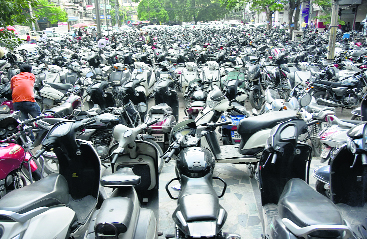 6 yrs on, no action on demand for panel to keep check on parking lots