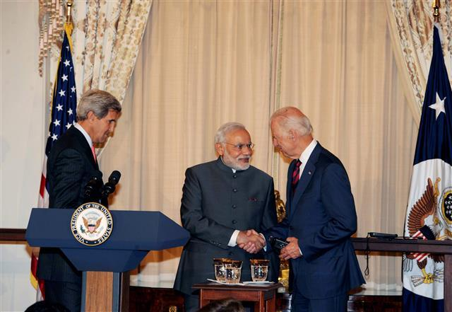 Bolstering democracy, secure Indo-Pacific Biden's priorities