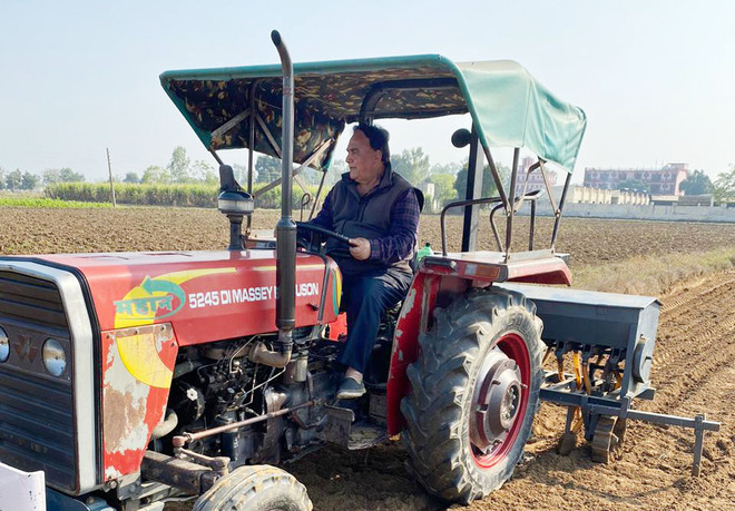 Amid pandemic, his farmhouse is a perfect getaway