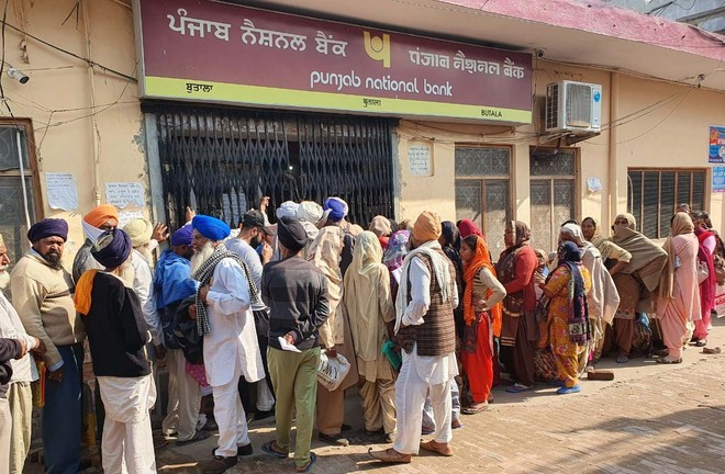 PNB branch at Butala functions at snail's pace