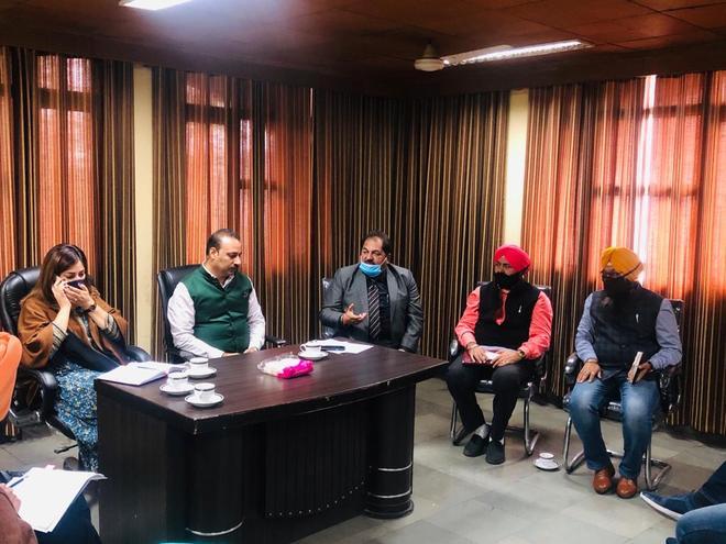 MLA holds meeting with PPCB, MC staff