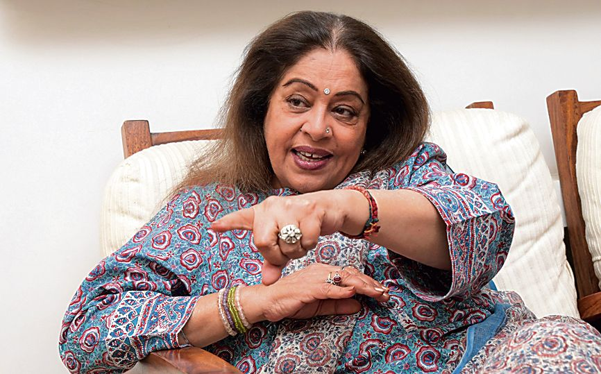 The Bharatiya Janata Party's Chandigarh MP Kirron Kher is suffering from blood cancer and is undergoing treatment in Mumbai, a report stated.