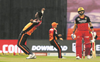Sunrisers sink Kohli's RCB