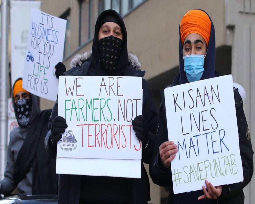 Sikh-Americans hold protest rallies in US cities against farm laws in India
